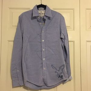 NWT Button Down with Eagle print